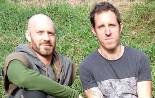 Nick Caulfield and Robz Jones