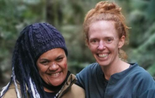Ngamihi Hetet-Te Miha and Dani Lebo